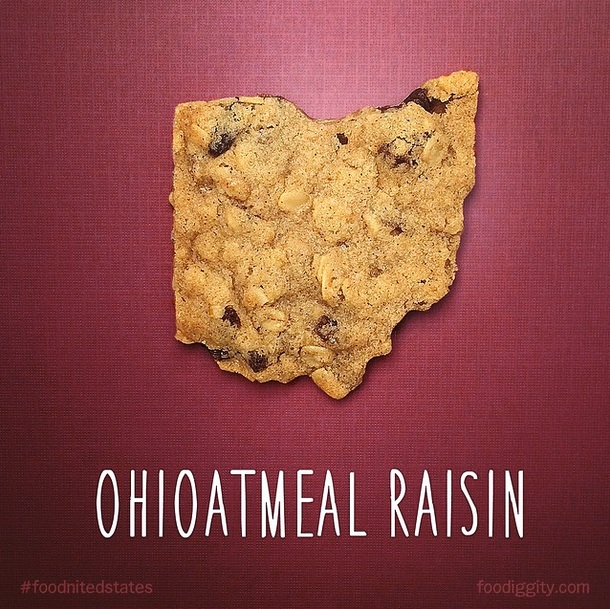 Ohioatmeal Raisin via Foodiggity