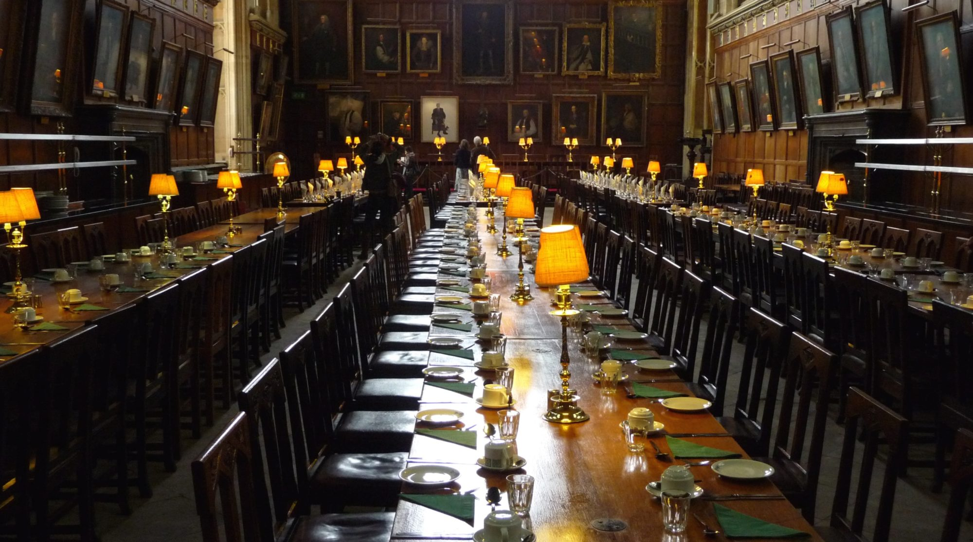 Oxford_-_Hall_of_Christ_Church Harry Potter dining hall