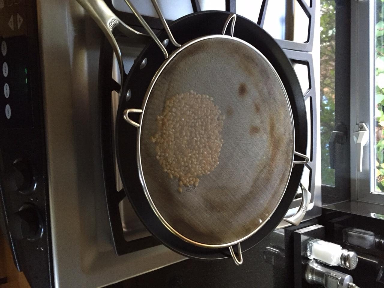 Popcorn in a Wok Splatter Screen