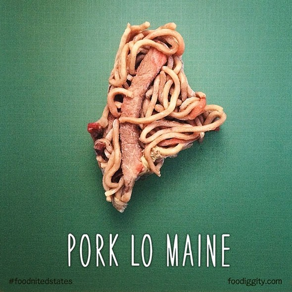 Pork Lo Main via Foodiggity