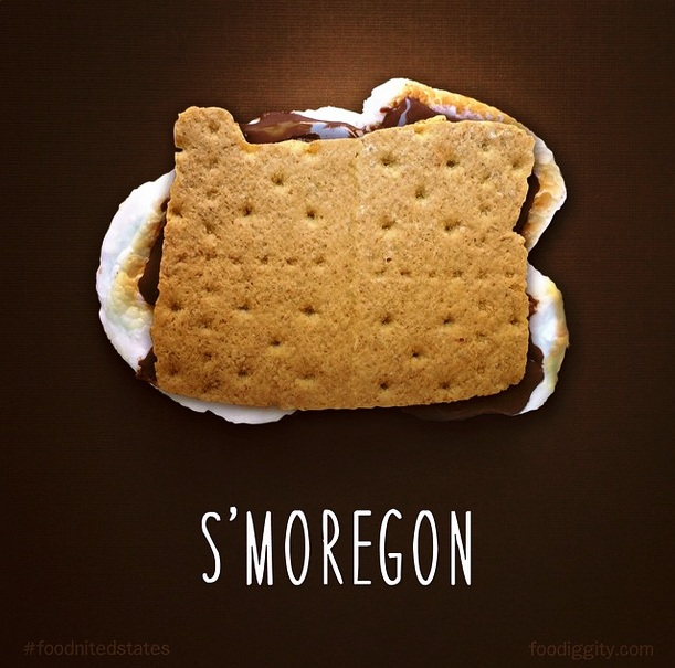 S'moregon via Foodiggity