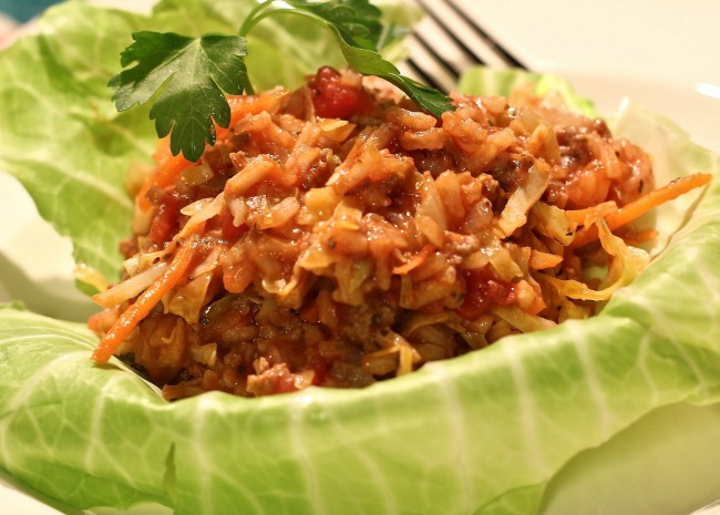 Golompke Beef and Cabbage Casserole