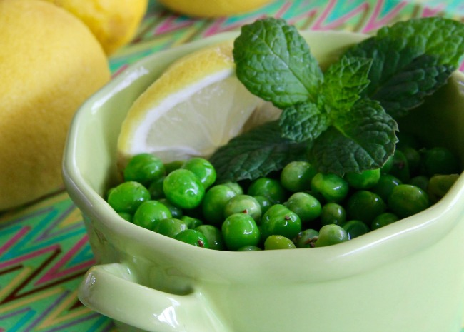 Lemon Pea Salad