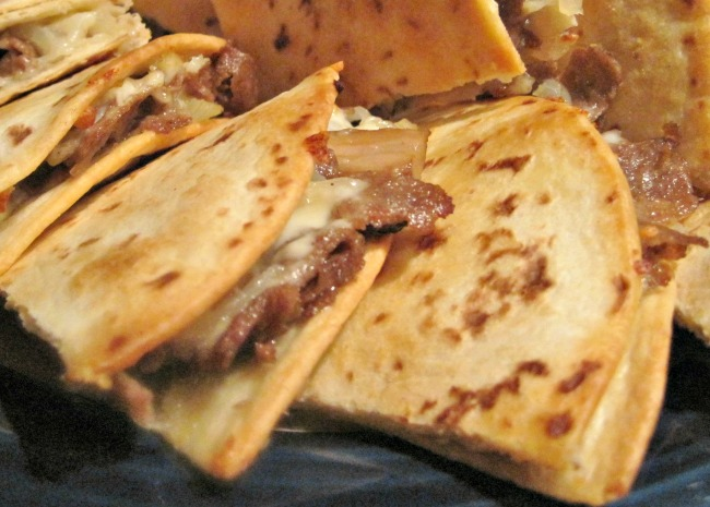 Philly Cheesesteak Quesadillas