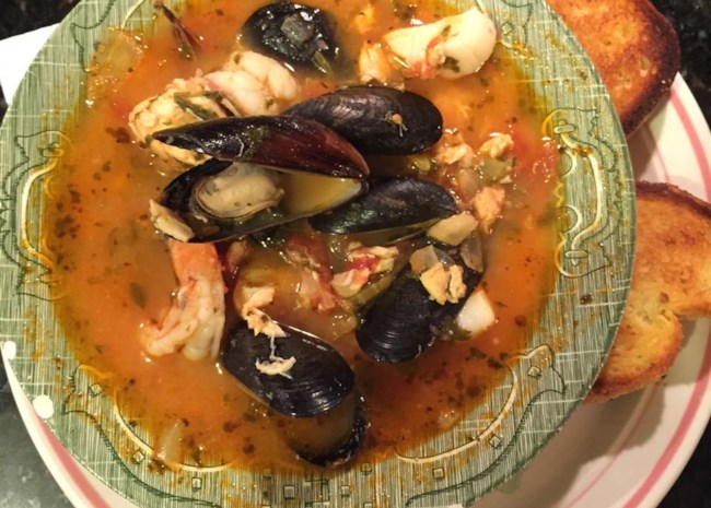 Brodetto Fish Stew Ancona-Style
