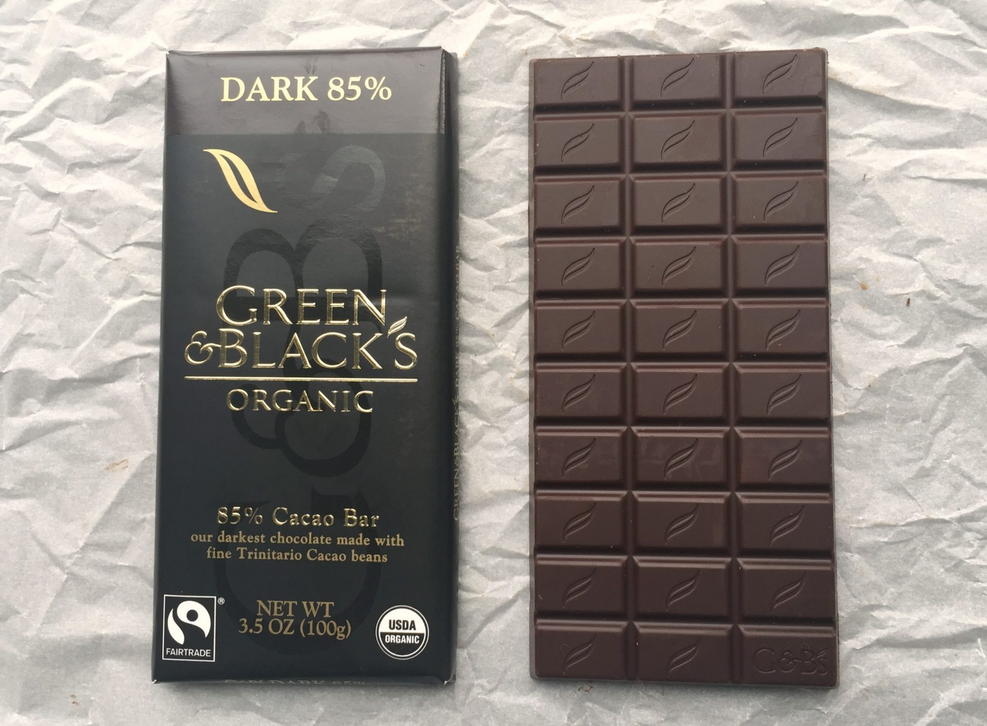 chocolate No. 13 Green & Black dark