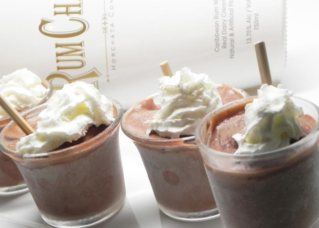 RumChata(R) Pudding Shots