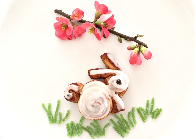 Cinnamon Roll Easter Bunny