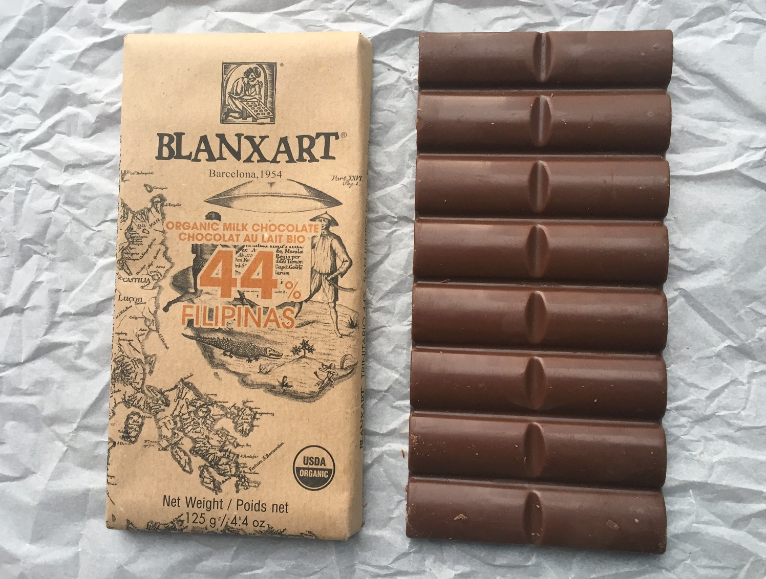 chocolate No. 3 Blanxart milk