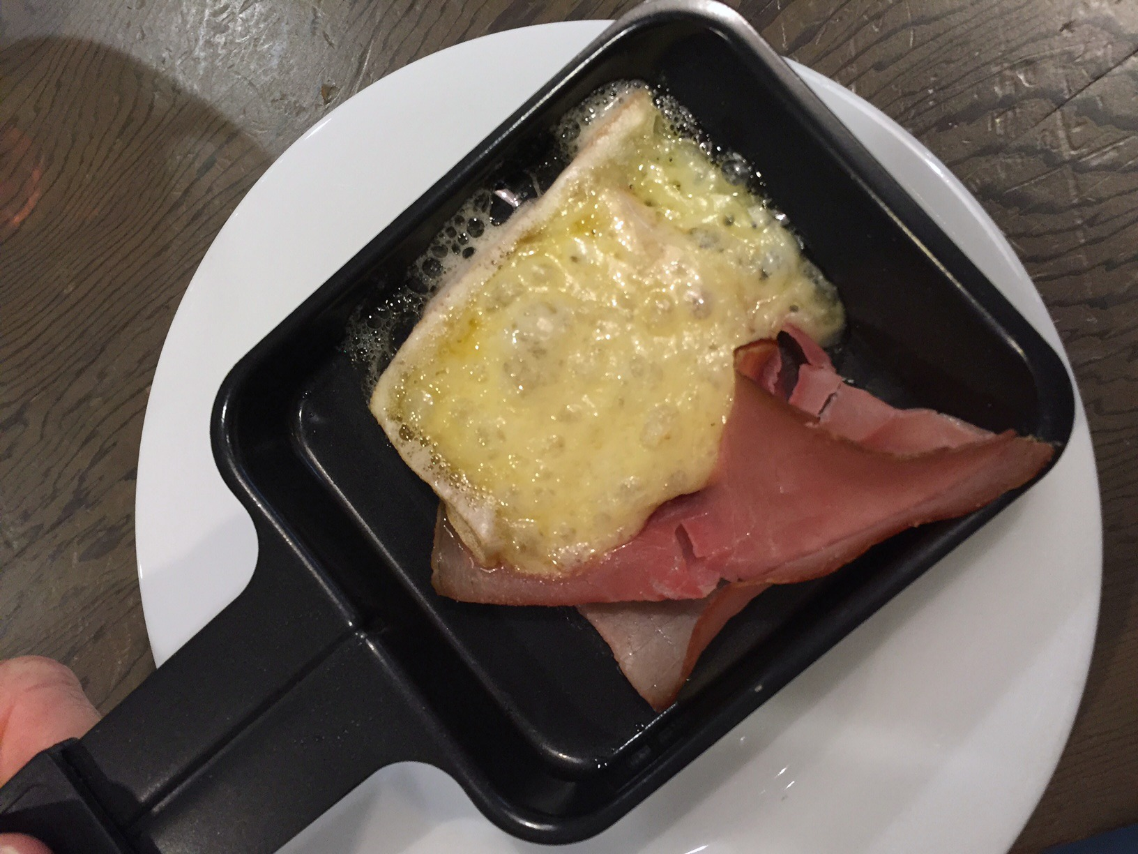 raclette melted