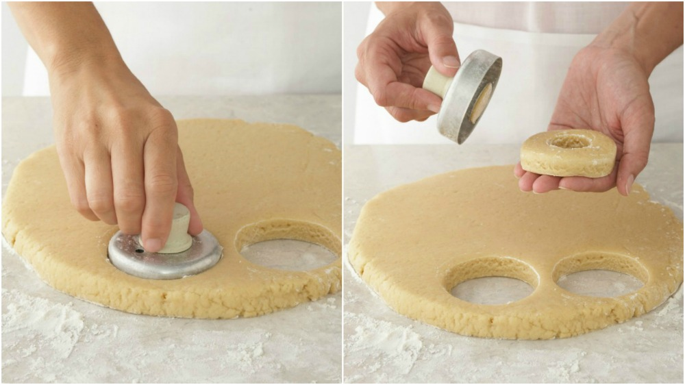 Cutting out doughnut Shapes