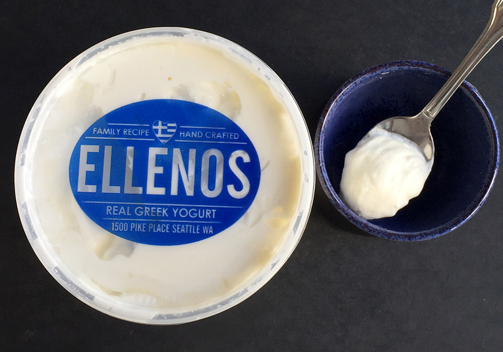 Greek yogurt Ellenos
