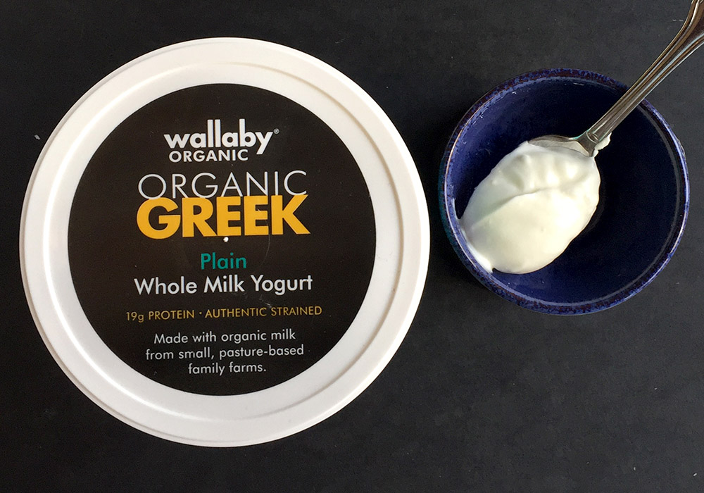 greek yogurt Wallaby