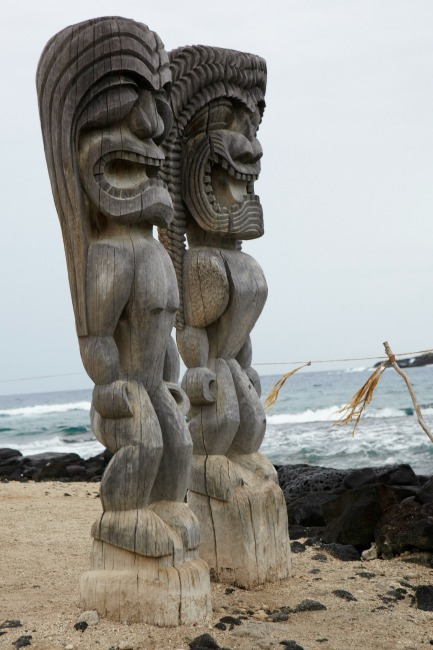 Tiki Sculptures