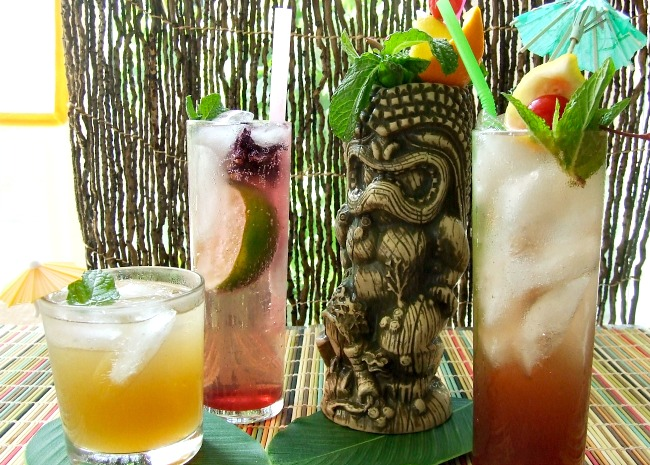Tiki Party Cocktails