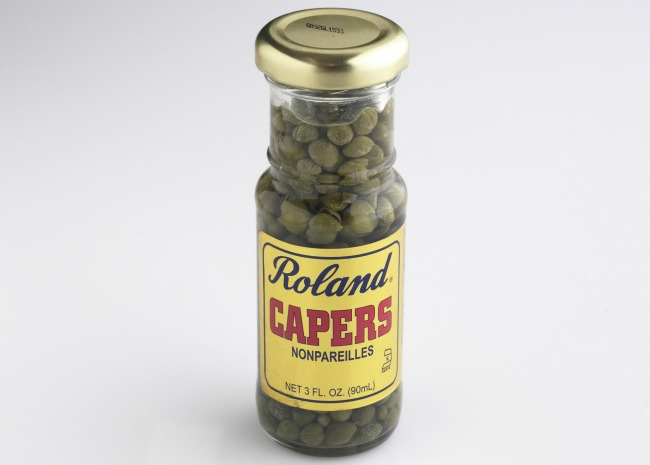 Jar of capers_photo by Meredith