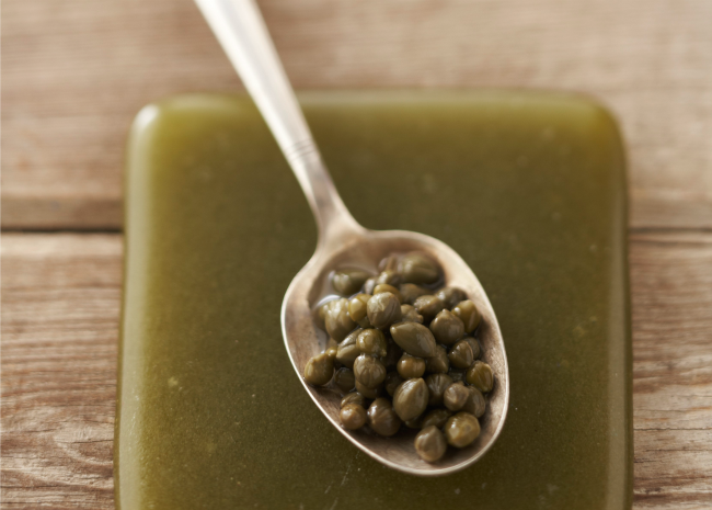 Spoonful of capers_photo by Meredith