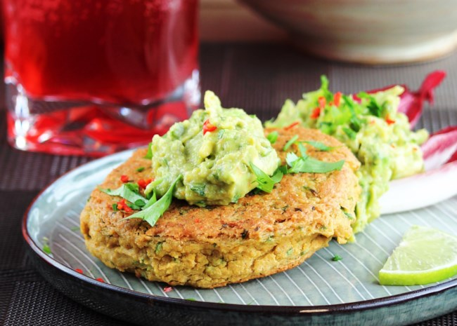 Elsy's Chickpea Burger