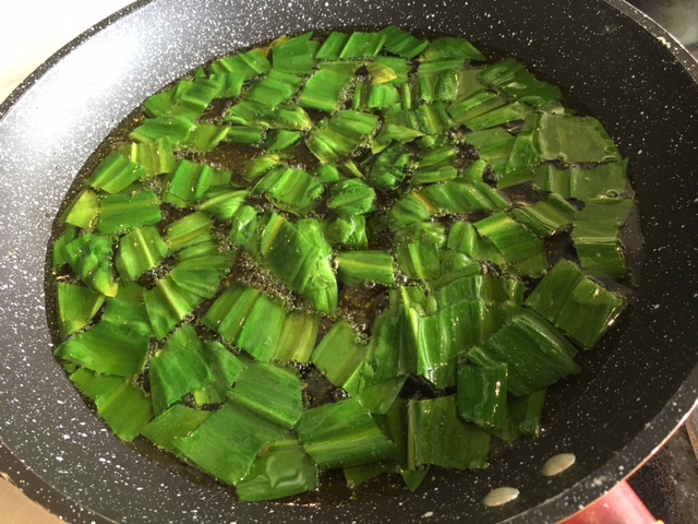 ramps cooking
