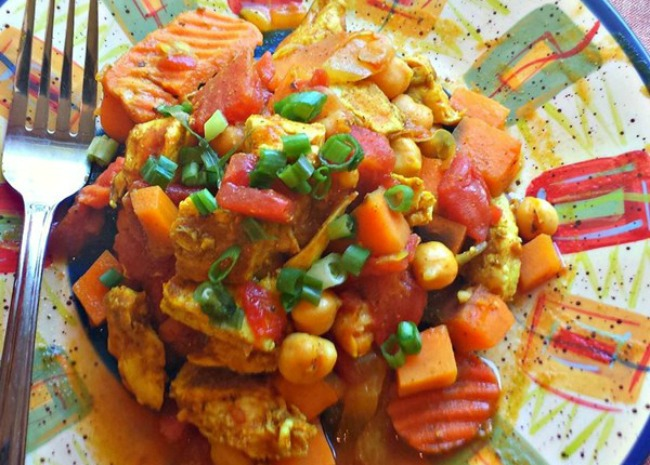 Slow Cooker Chicken Marrakesh  Photo by Occasional Cooker