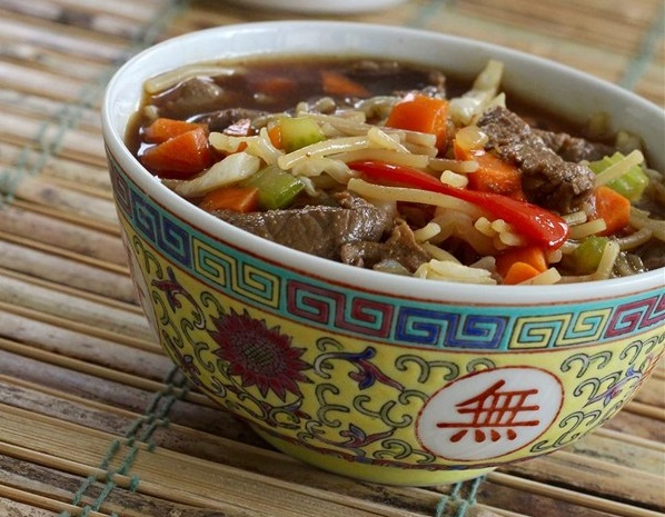 edited 3846710 asian beef noodle soup photo by lutzflcat