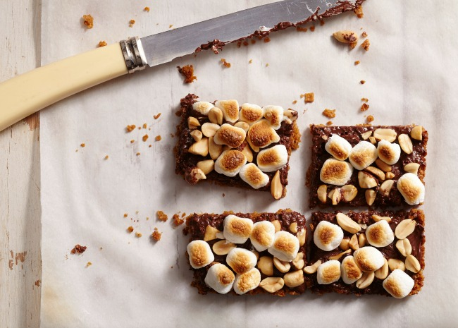 Peanut Smores Cereal Bars