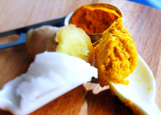 Fresh Turmeric Paste