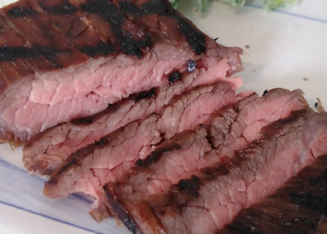 Sous Vide Marinated Flank Steak
