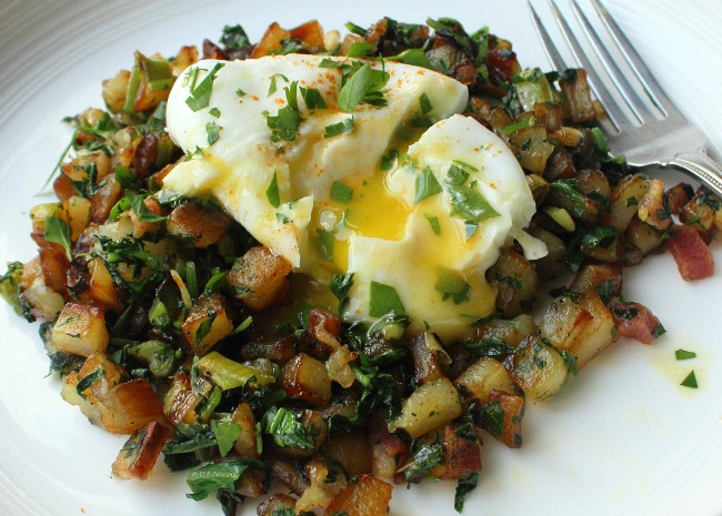 Chef Johns Colcannon Hash