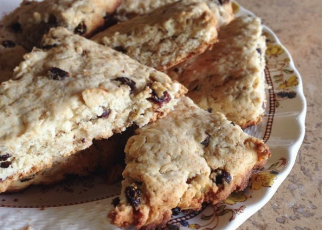 scottish oat scones by kelly m. anderson