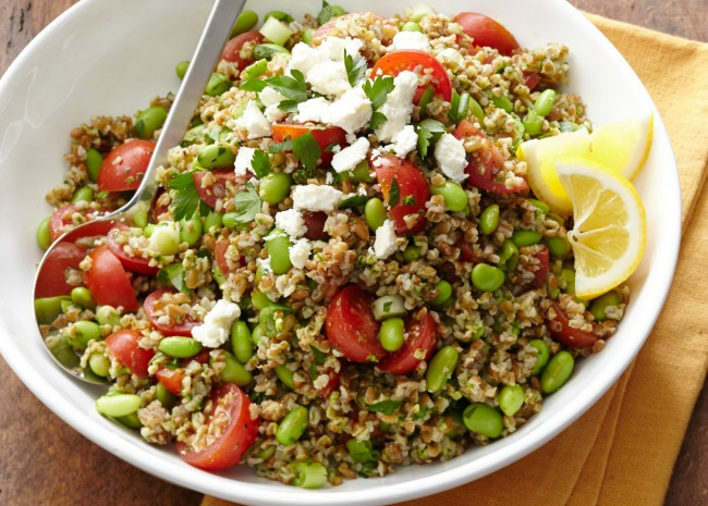Tabbouleh with Edamame