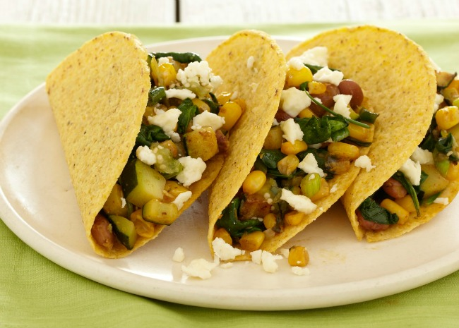 Vegetarian Tacos with Chard
