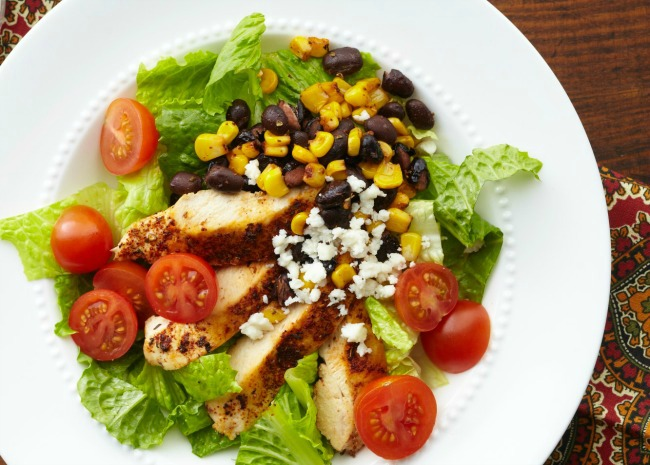 12 Recipes to Turn Extra Chicken into Healthy Main Dish Salads