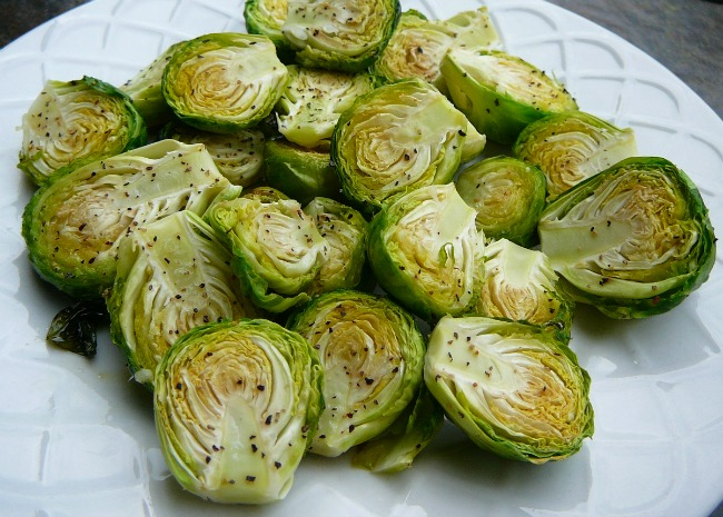Keep It Simple Brussels Sprouts