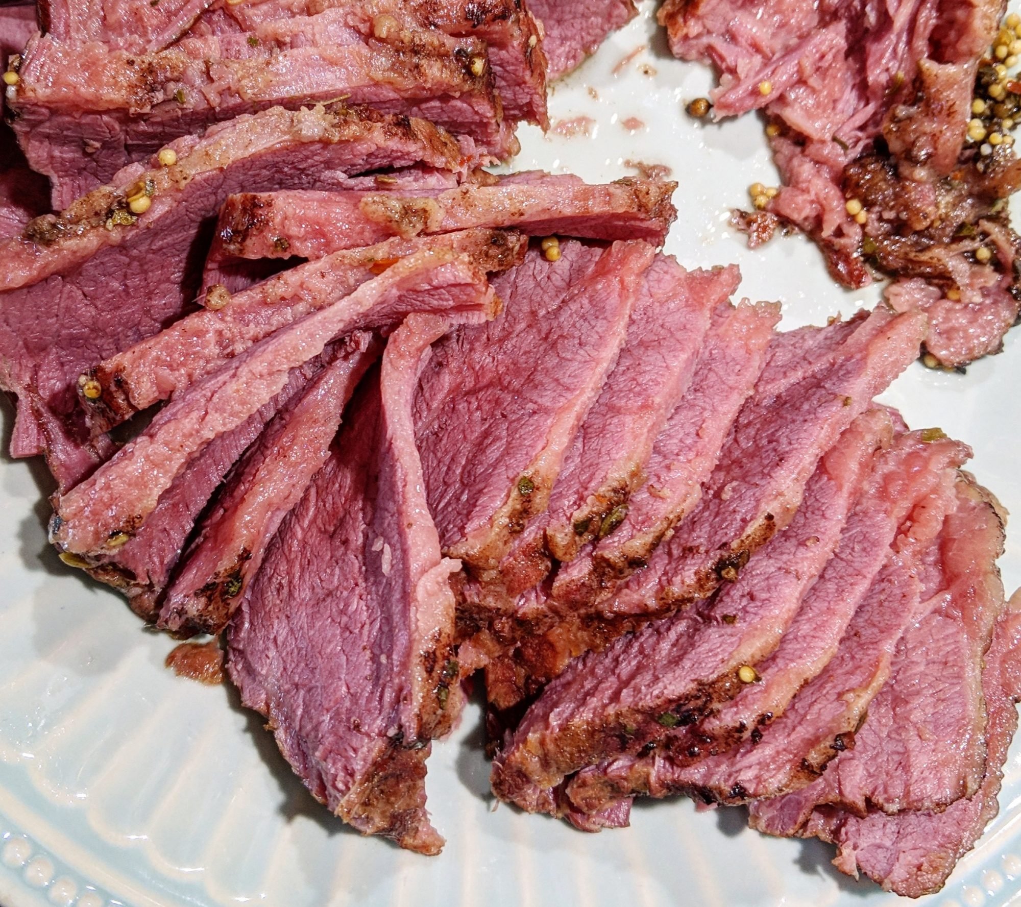Instant Pot Corned Beef sliced