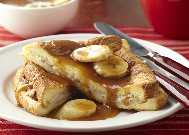 101877595 peanut butter and banana stuffed french toast photo by Meredith