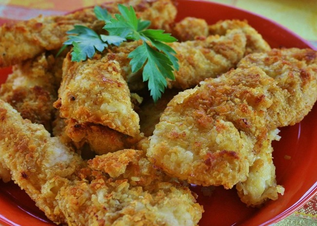 Baked Crispy Potato Chicken
