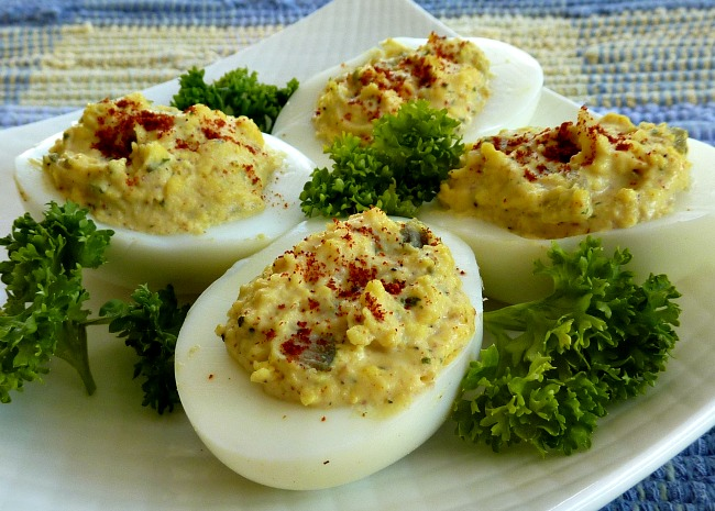 Kimberly's Curried Deviled Eggs