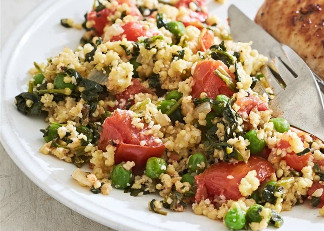 Vegetable Birdseed Pilaf