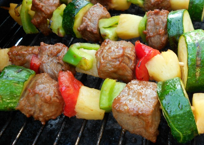 Beef Shish Kabobs for Freezer Cooking