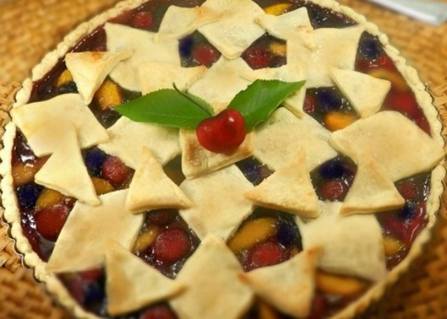cherry-berry-peach-pie Cherry Berry Peach Pie, photo by Nanby on Allrecipes