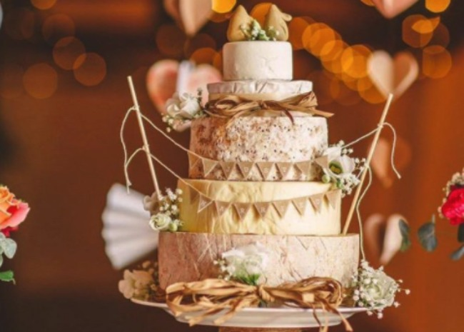 Would You Say I Do To This Cheese Wheel Wedding Cake Allrecipes