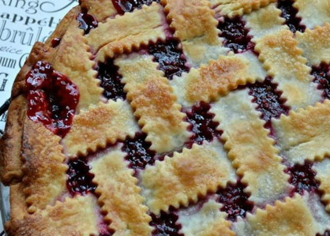 sour-cherry-pie Sour Cherry Pie, photo by KimsCookingNow on Allrecipes