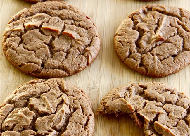 Peanut Butter Nutella(R) Pie Cookies