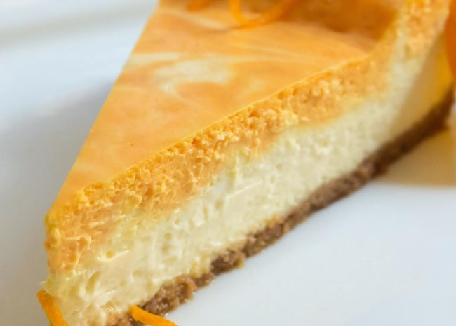 Creamsicle Cheesecake