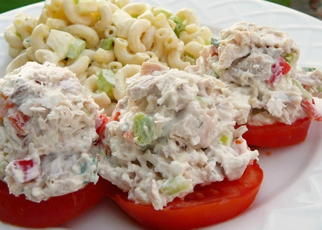 Feta Chicken Salad