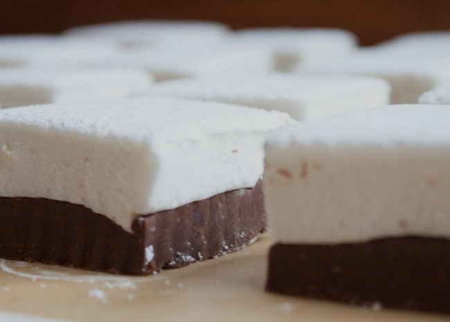 Double-Decker Marshmallow Fudge