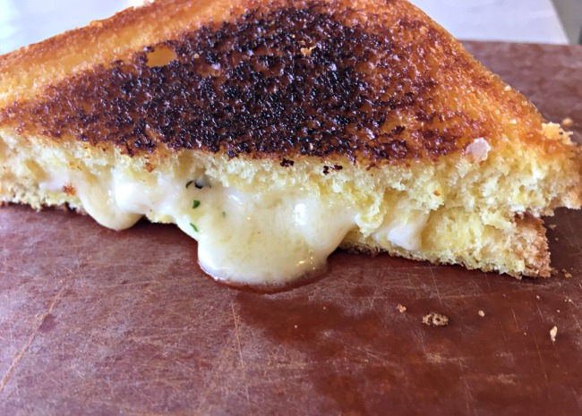 650 x 465 texas toast grilled cheese cut in half photo by Leslie Kelly