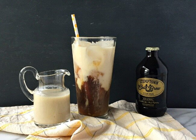 banana milk coffee make your own version of this hot cold brew
