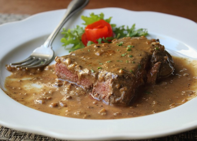 Chef John's Steak Diane